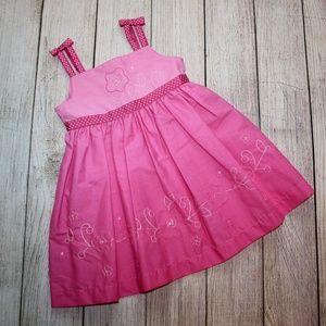 BLUEBERI BOULEVARD 12 Month Pink Dress